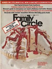 Family Circle Mag Raspberry Pie & 9 Great Dresses March 1974 092719nonr