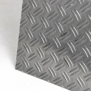 Aluminium Riffelblech 1,5/2,0mm Duett Alu Warzenblech Tränenblech Blech nach Maß