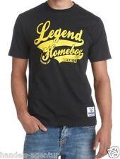 T-Shirt Herrenshirt HOMEBOY schwarz mit Print Gr. XS