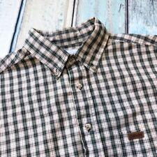 Carhartt Sz L Mens Shirt Plaids Cotton