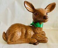Vintage Deer Figurine Statue HUGE! Sooo Cute!