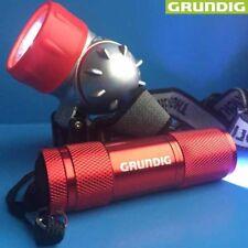 Grundig da 9â LED Torcia e 7â LED Lampada frontale 98568