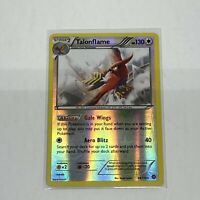 1x Talonflame 96/114 XY Steam Siege Reverse Holo Rare Pokemon Card TCG