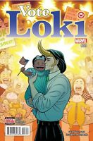 Vote Loki #3 (2016, Marvel Comics) Thor NM