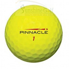 24 Aaa Pinnacle Yellow Mix Used Golf Balls (3A) - Free Shipping