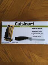 Cuisinart Electric Knife Model CEK-40 NIB