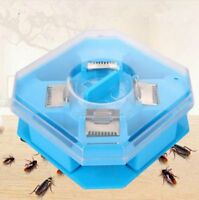 Safe No-Pollution Cockroach Cockroach Trap Reusable Automatic Catcher Kill