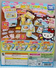 Miniatures Hello Kitty Ice-cream Shop 5pcs  - Takara Tomy   , #1ok