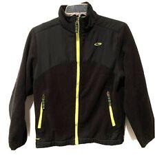 Boys Champion Black Fleece/Windbreaker Jacket-Size Medium (8/10)