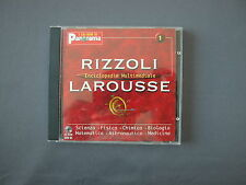 CD-ROM RIZZOLI ENCICLOPEDIA MULTIMEDIALE LAROUSSE N. 1 SCIENZE Panorama