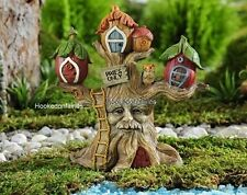 Miniature Enchanted Forest Tree House Fairy Garden Dollhouse  GI 706465