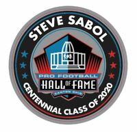 STEVE SABOL 2020 CENTENNIAL PIN NFL HALL OF FAME HOF FILMS  PATCH IN EBAY STORE