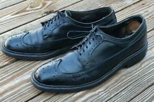 Vintage Hanover LB Sheppard Signature Wingtip Brogue Mens Size 10 B/AA Shoes