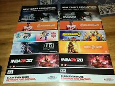 """Store Display Posters 48""""×24"""" Promotional video game Display Must Play Greatest"""