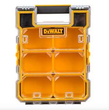 Dewalt 6 Compartment Cups Small Parts Tool Storage Organizer Box Case Plastic