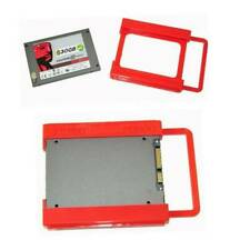 NEW 2.5 to 3.5 Adapter Bracket SSD HDD Notebook Mounting Tray Caddy Bay Post Red