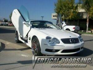 Mercedes SL R230 03-09 Lambo Style Vertical Doors VDI Bolt On Hinge Kit