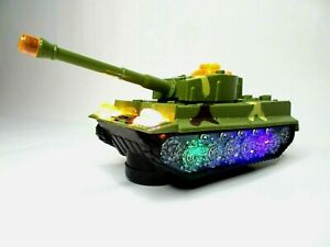 Elektrischer Panzer Spielpanzer Modell Kinderspielzeug hat Sound/Licht und fährt