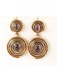 JAY KING Amethyst Earrings, Copper & Sterling Silver