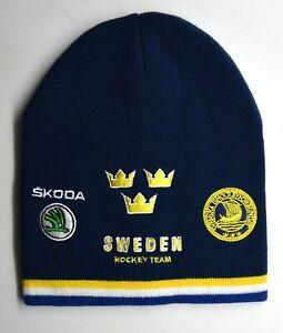 Sweden Ice Hockey Team Beanie Hat