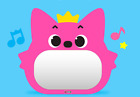 Pinkfong Safe Acrylic Mirror for baby  kids