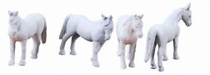 Discontinued 2010 Lionel by Kline 22579 Circus Animals (4) Horses O,S or O27 new
