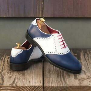 The Saddle Golf Shoe Model 3815 from Robert August w/ Free Shoe Trees