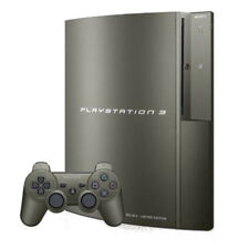 Sony PlayStation 3 Metal Gear Solid Limited Edition 40GB Gun-Metal Grey Console