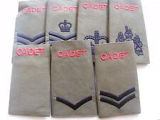 Rank Slides & Epaulettes Issued Militaria Badges