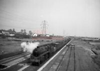 PHOTO  BR LOCO 73038 AT RUMNEY ON 27TH MARCH 1954