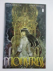 8.0 VF MONSTRESS Vol 1 Issue 1 Image Comic 2015 1st Printing Marjorie Liu Takeda