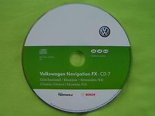 CD NAVIGATION KROATIEN SLOWENIEN FX 2012 V4 VW RNS 310 PASSAT GOLF 6 TIGUAN SEAT