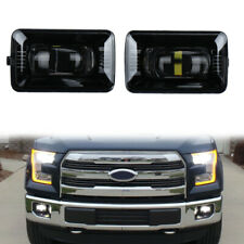 Pair LED Fog Lights for Ford F150 Super Duty 2015 2016 2017 2018 Direct Fitment