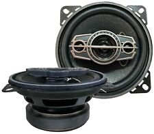 "(2 speakers)  4"" inches, 4-Way, 400W, Replace/Upgrade Factory Car Speakers"