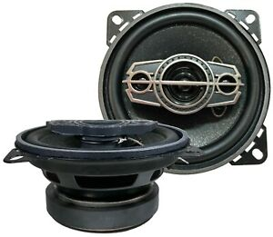 "MB ACOUSTICS (2 speakers)  4"" inches, 4-Way, 400W, Upgrade Factory Car Speakers"