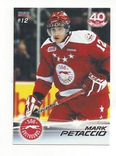 2011-12 Soo Greyhounds (OHL) Mark Petaccio (Evansville Thunderbolts)