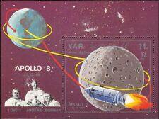 Yemen 1968 Apollo 8/Capsule/Astronauts/Space/Moon/People/Rockets 1v m/s (s4003f)