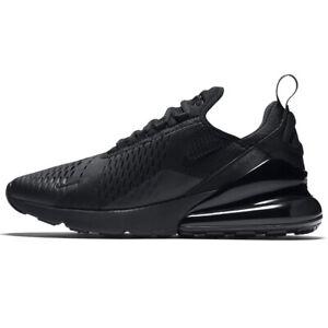 Nike Air Max 270 uomo scarpe sneakers sportive Nero Originali running allenament