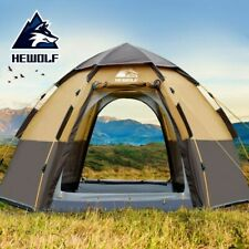 Automatic Open Tent Polyester Double Layer Large Outdoor Beach Camping Canvas