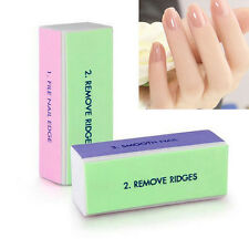 4 Sided Nail Burnish Block Nail File Buffer Polishing Fashion Women Manicure Kit
