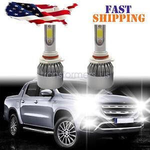 2Pcs 9005 HB3 LED Headlight Bulbs Kit Bright Hi/Low Beams 6000K White 72W 8000LM