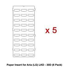 Paper Insert for Aria (LG) LKD - 30D (5 Pack)
