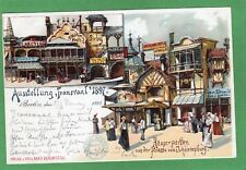 More details for berlin fair exhibition transvaal south africa  1897 pc  used ref n311