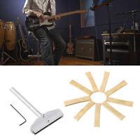 Hot Guitar Tool Set Guitar Fret Press Caul w/ 9 Size inserts For Guitar Maker