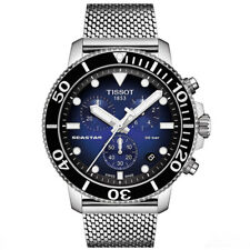New Tissot Mens Seastar 1000 Chronograph 300m Divers Watch - T1204171104102