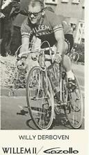 Cyclisme, ciclismo, radsport, wielrennen, cycling, WILLY DERBOVEN