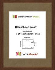 Mona 31,5 x 40 cm Bilderrahmen Homedeco 24 Holzwerkstoff Wahl Farbe Verglasung