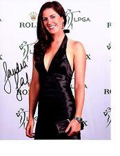 Sandra Gal LPGA star hand signed autographed 8x10 golf photo Germany d