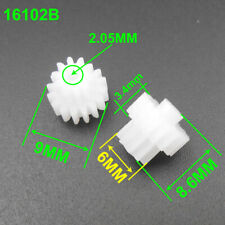 1000Pc 0.5 Modulus 0.5M Double Gear Reduction Bilayer Gears 16T 10T 2.05mm 16102