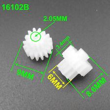 200Pcs 0.5 Modulus 0.5M Double Gear Reduction Bilayer Gears 16T 10T 2.05mm 16102